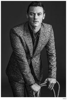 Luke Evans Stars in WWD Photo Shoot to Promote Dracula Untold image Luke Evans WWD 005