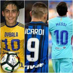 Messi  Dybala  Icardi  El día de oficina del tridente de ataque de Argentina. MDI.  LLAMEN A LOS BOMBEROS!