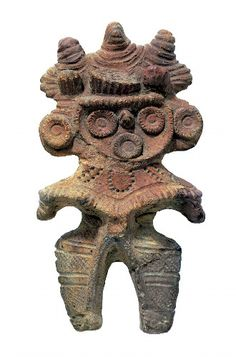 埼玉県滝馬室遺跡出土のミミズク土偶                                                                                                                                                                                 もっと見る