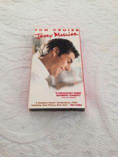 Jerry Maguire Tom Cruise Renee Zellweger Cuba Gooding Jr VHS 1997 NTSC Romance