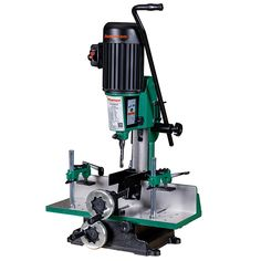 Grizzly G0645 and Shop Fox W1671 Benchtop Mortising Machine - RobotDigg R Robot, Mortising Machine, Cast Iron, It Cast, Chisel Set, Fox, Home Workshop, Foxes