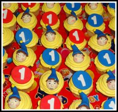 Birthday Celebration for Children and Adults - Noddy Theme