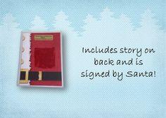 Authentic Piece of Santa's Suit by SantaGiftWorkshop on Etsy, $5.95