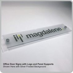office door signs with logos nameplates sliding door signs for businesses by designage