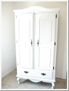 DIY::  #25 DOLLAR Armoire! Love the Rustic Details ! (FULL DETAILED TUTORIAL) ! by @Domestically Seasoned Seasoned Speaking