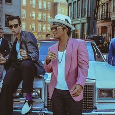 Bruno mars uptown funk video.  Bucket list for me.  Need to see him in concert..
