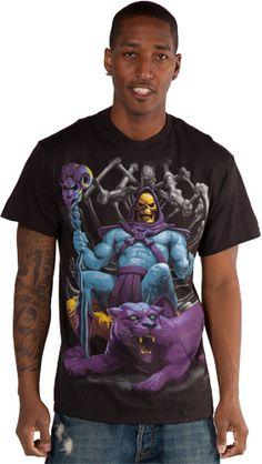 Panthor And Skeletor Shirt