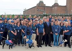 Prime Minister visits Battersea Dogs' and Cats' home to celebrate 1,000th volunteer @Battersea Dogs & Cats Home