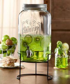 Look at this #zulilyfind! 2-Gal. Beverage Dispenser Set #zulilyfinds