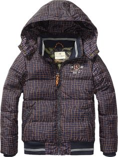 Worked Out Nylon Jacket | Jackets | Boy's Clothing at Scotch & Soda