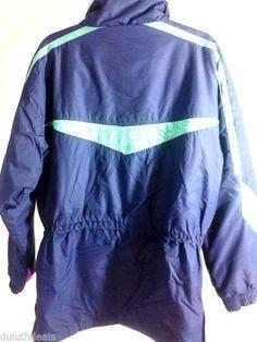 EDELWEISS SKI  Wear Jacket Mens Blue Ski Jacket, Size Medium #EDELWEISSSKIWEAR #BasicJacket