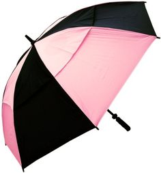 RainStoppers Women's 54-Inch Windbuster Golf Umbrella (Pink and Black) RainStoppers http://www.amazon.com/dp/B00814G0IS/ref=cm_sw_r_pi_dp_k0.Yvb0NQ1Z7G