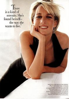 """QUOTES PASSION: Princess Diana: """"I am not a political figure. The fact is I am a humanitarian figure and always will be."""""""