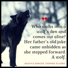 Death's Dancer wolf