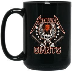 Metallica San Francisco Giants Coffee Mug Tea Mug Metallica San Francisco Giants Coffee Mug Tea Mug Perfect Quality for Amazing Prices! This item is NOT availab