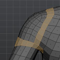 What is the ideal topology for a shoulder joint? Character Modeling, 3d Character, 3d Design, Game Design, Polygon Modeling, 3d Modeling, Low Poly Games, Surface Modeling, Blender Tutorial
