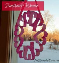 Sweetheart Wreath   Two Everyday Divas