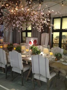 Ralph Lauren Tablescape at the DIFFA Event - 2014 Architectural Digest Home Design Show - NYC