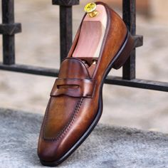 Brown Slip on.