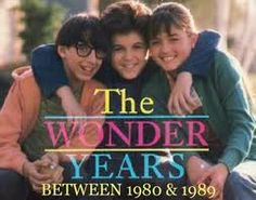 The Wonder Years -- I LOVED this show!!! Crushed hard on winnie cooper so beautiful
