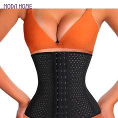 95edf146ce 2017 Women Hot Body Shaper Slim Waist Tummy Belt Waist Cincher Underbust  Control Corset Waist Trainer