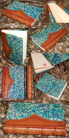 Turn your arts & crafts love into a business Leatherbound book