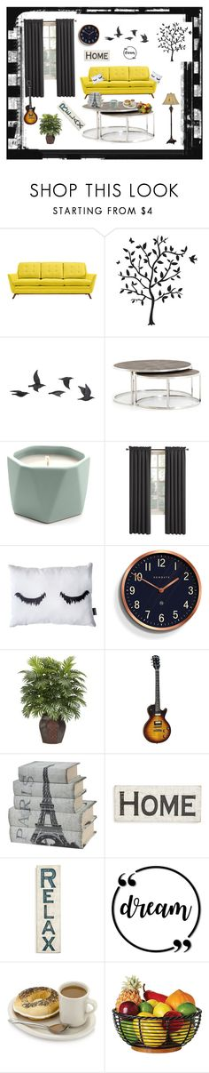 """Home"" by ananurkovic ❤ liked on Polyvore featuring interior, interiors, interior design, home, home decor, interior decorating, Godinger, Jayson Home, Illume and Newgate"