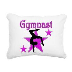 1ST CLASS GYMNAST Rectangular Canvas Pillow on CafePress.com
