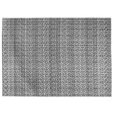 Rogue Woven Reversible Placemat in Black/Silver - BedBathandBeyond.com