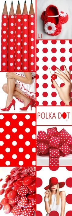 red polka dot ღ Lu's Inspiration