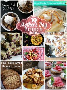 Domestic Superhero 10 Mother's Day Brunch Recipes