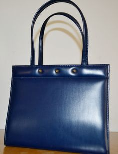 Vintage   Handtasche Blau aus den 50er Jahren  Guter Vintage Zustand, siehe Bilder