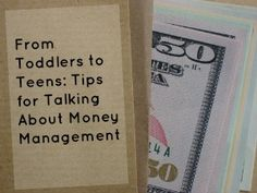 From Toddlers to Teens: Tips for Talking About Money Management #parenting