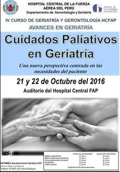 CURSO :CUIDADOS PALIATIVOS EN GERIATRÍA | Central Informativa del Adulto Mayor