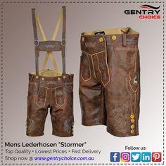Oktoberfest Lederhosen for Men - Mode für Frauen Oktoberfest Costume, Oktoberfest Party, Mens Lederhosen, Cowhide Leather, Suspenders, Real Leather, Shop Now, Art Work, Shopping
