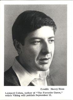 Ladies and Gentlemen...Mr. Leonard Cohen