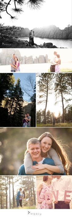 Katie and Josiah {Rapid City Engagement Photography} http://legacytheblog.com/