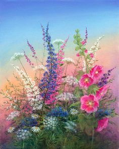 Arnold Alaniz. Summer bouquet
