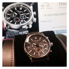Jorg Gray 6500 mens watch - commemorative edition.