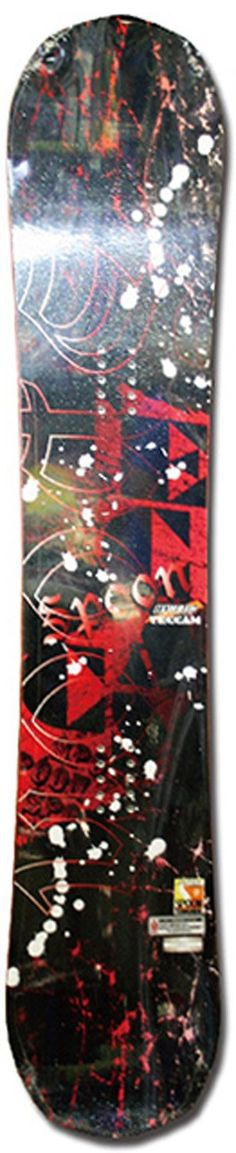 154cm Spoon Teccam SP Red Rocker Snowboard -- Awesome products selected by Anna Churchill