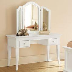 Walnut Street Vanity - White   from hayneedle.com