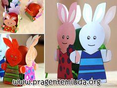 CESTA COELHINHO PARA OVINHOS DE PÁSCOA    Esta atividade é muito simples e pode ser confeccionada tanto em papel quanto em eva. Aqui estamos postando as duas ideias para te inspirar. Faça em sala de aula com a ajuda dos alunos e depois dê como lembrancinha. TEM MOLDES!    http://www.pragentemiuda.org/2013/03/cesta-coelhinho-para-ovos-de-pascoa.html