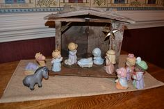 Heavenly Blessings Avon Nativity - 1986