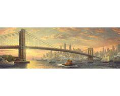 Puzzle Schmidt Puente de Brooklyn, Nueva York de 1000 Piezas