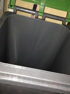 Vermeiden von Madenbildung in der Mülltonne bei Hitze