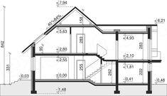 Projekt Dom przy Cyprysowej 10 130,37 m2 - koszt budowy - EXTRADOM Home Goods, House Plans, Floor Plans, 1, How To Plan, Architecture, Motorcycles, Light Bulb Vase, Valentines Day Weddings