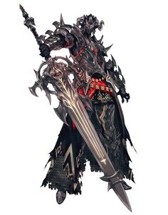 Dark Knight from Final Fantasy XIV: Heavensward