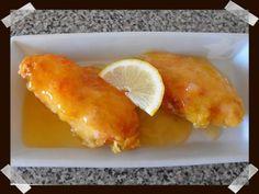 Pollo al limón (comida china)