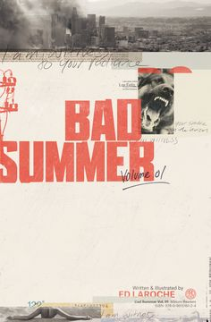 Bad Summer — Cover on Behance