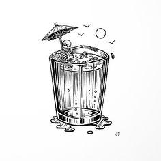 Jamie Browne Art @Jamie Browne ~ jamiebrowneart.com ~ Ya Booze, Ya Snooze